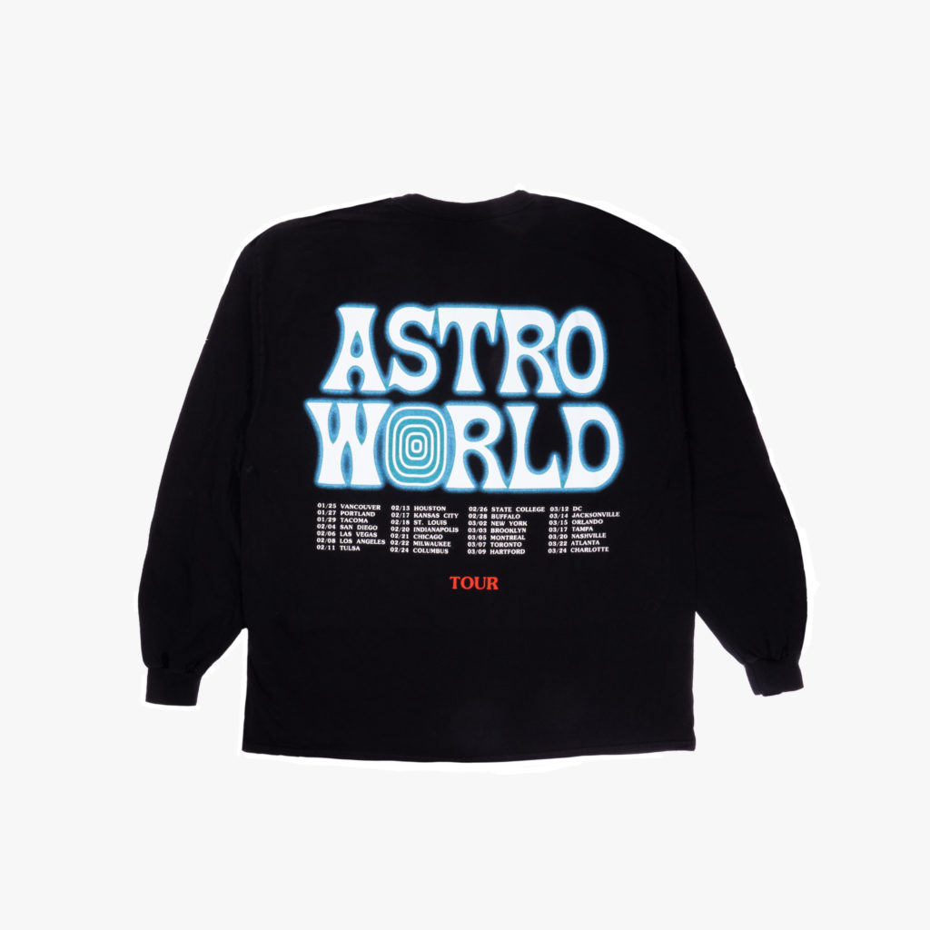 c8fe291d9bc7 Travis Scott Astroworld Wish You Were Here Long Sleeve ...